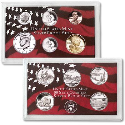2005 U.S. Silver Proof Set