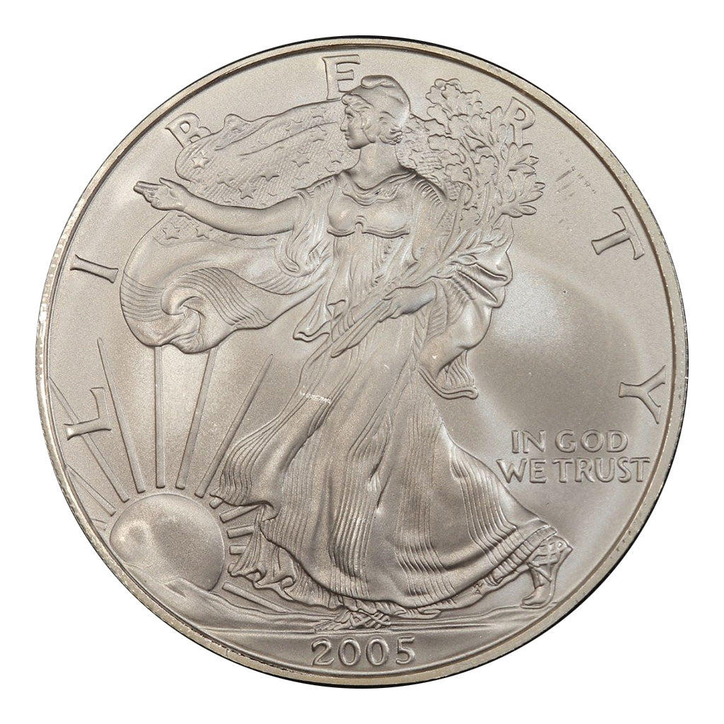 2005 1 oz American Silver Eagle Mint State Condition