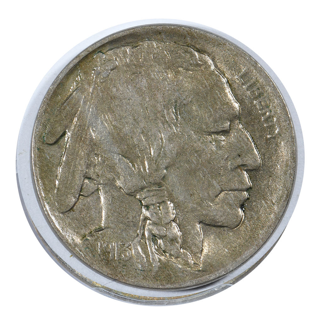 1913 Buffalo Nickel Type 1 About Uncirculated Condition