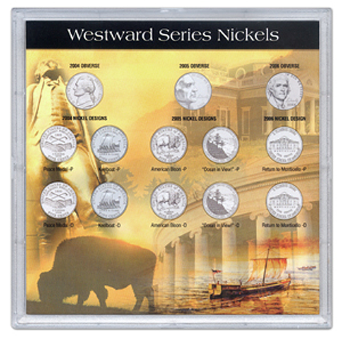 2006 Commemorative Nickels 13 Hole