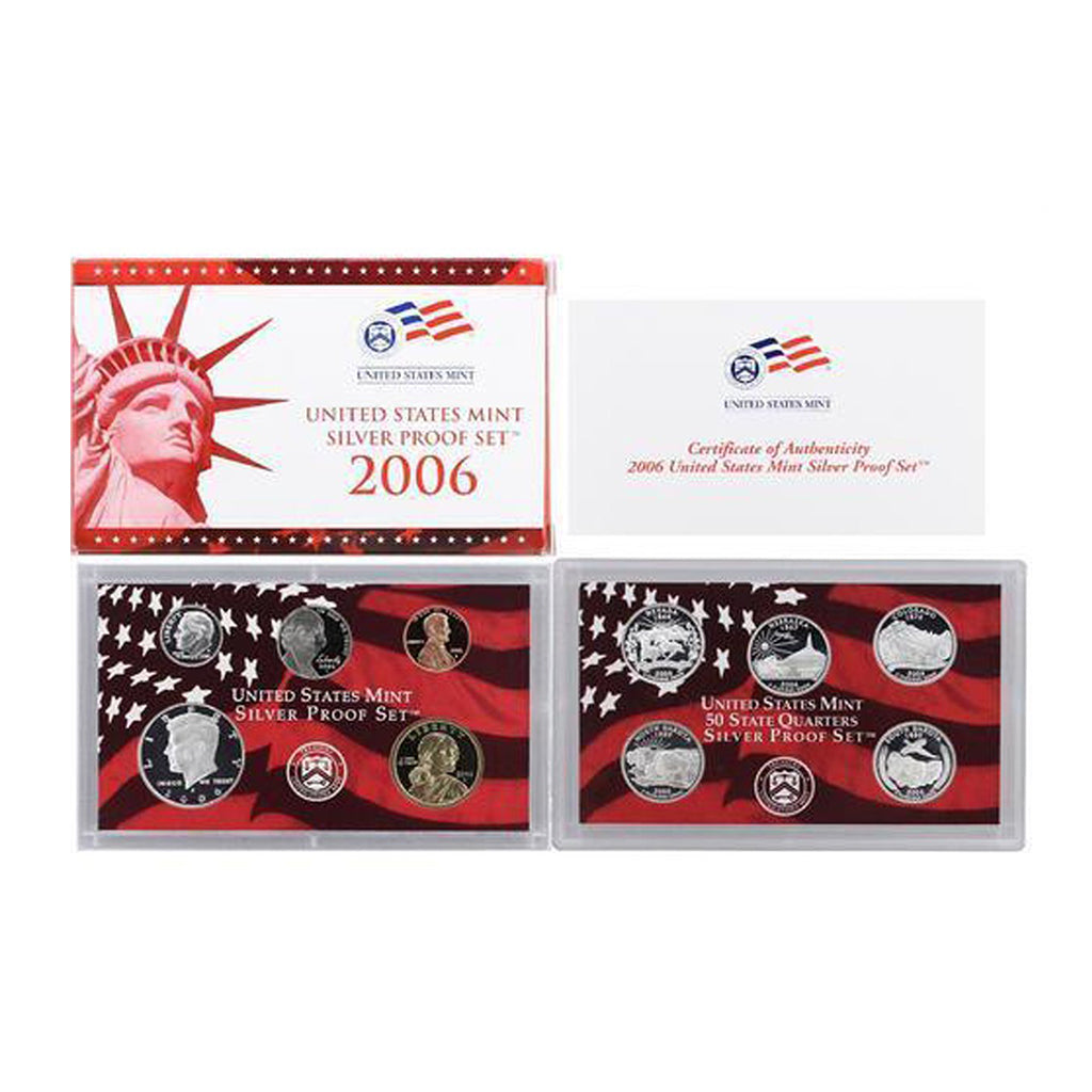 2006 U.S. Silver Proof Set