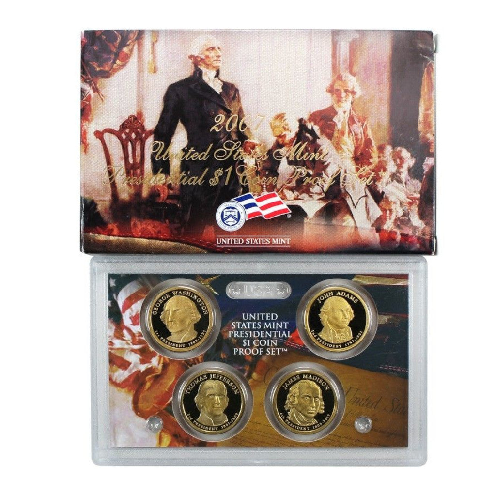 2007 U.S. Presidential Dollars Proof Set