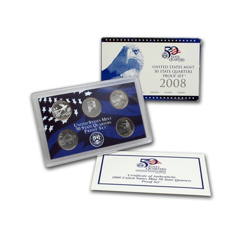 2008 U.S. State Quarters Proof Set