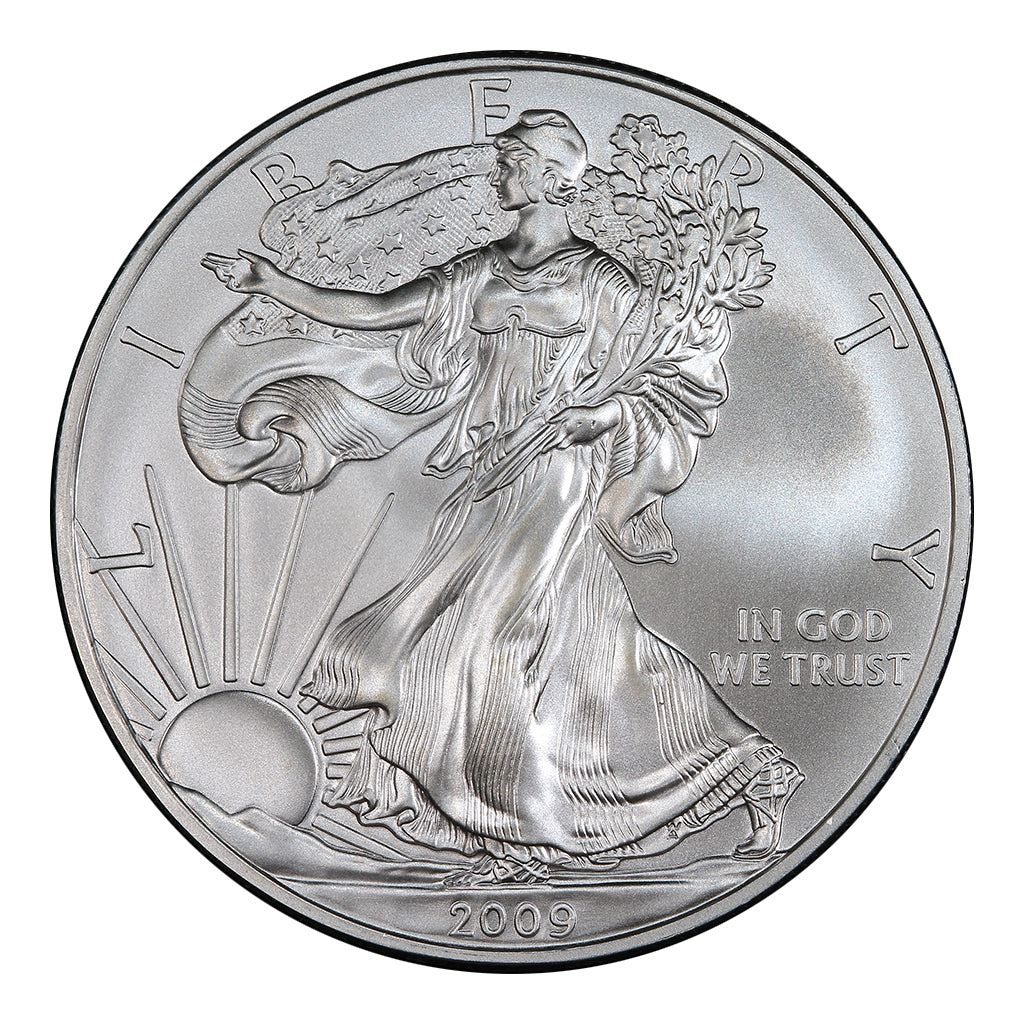 2009 1 oz American Silver Eagle Mint State Condition