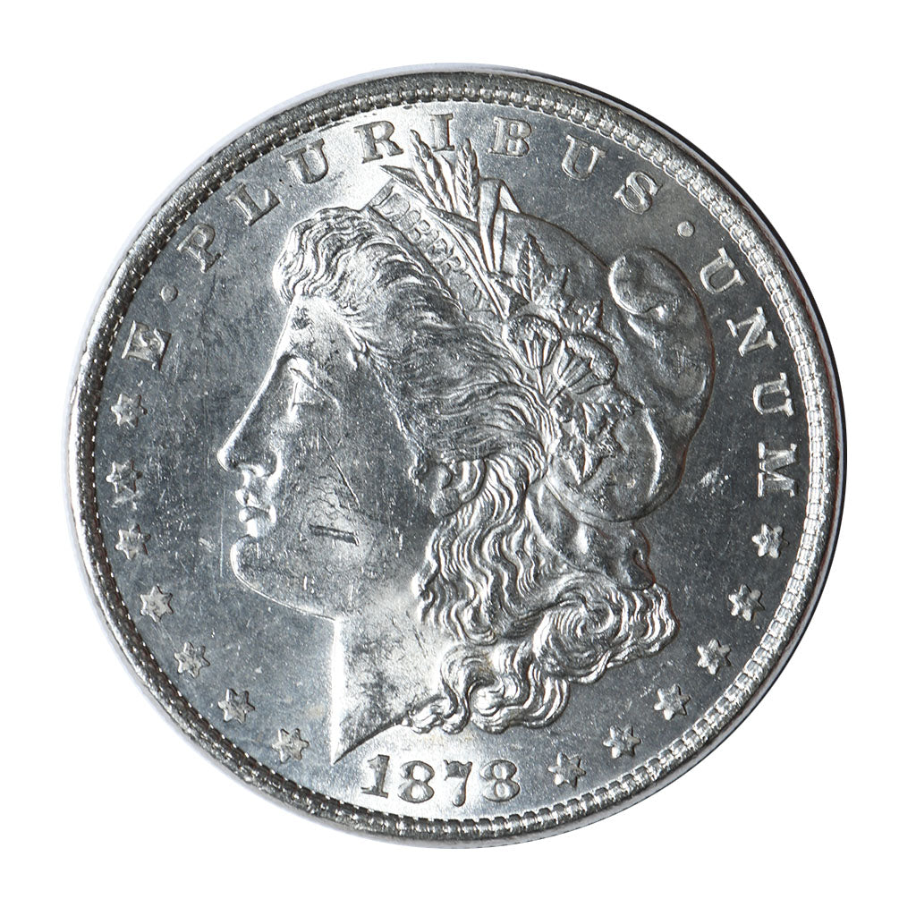 1878 Morgan Dollar Reverse of 1879 Mint State