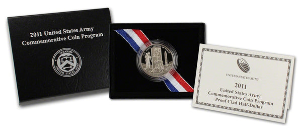 2011 United States Army Commemorative Half Dollar Proof