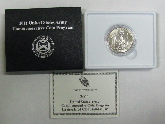 2011 United States Army Commemorative Half Dollar BU