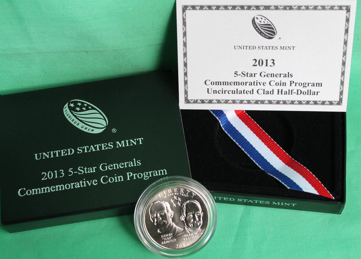 2013 5-Star General Commemorative Half Dollar BU