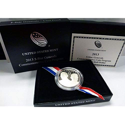 2013 5-Star General Commemorative Half Dollar Proof