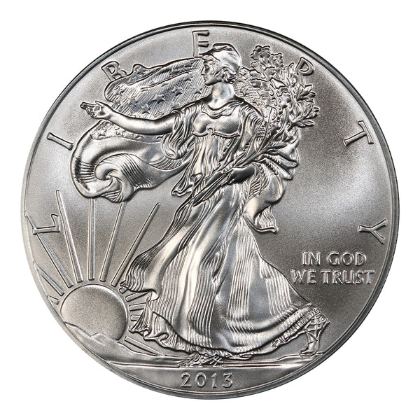 2013 1 oz American Silver Eagle Mint State