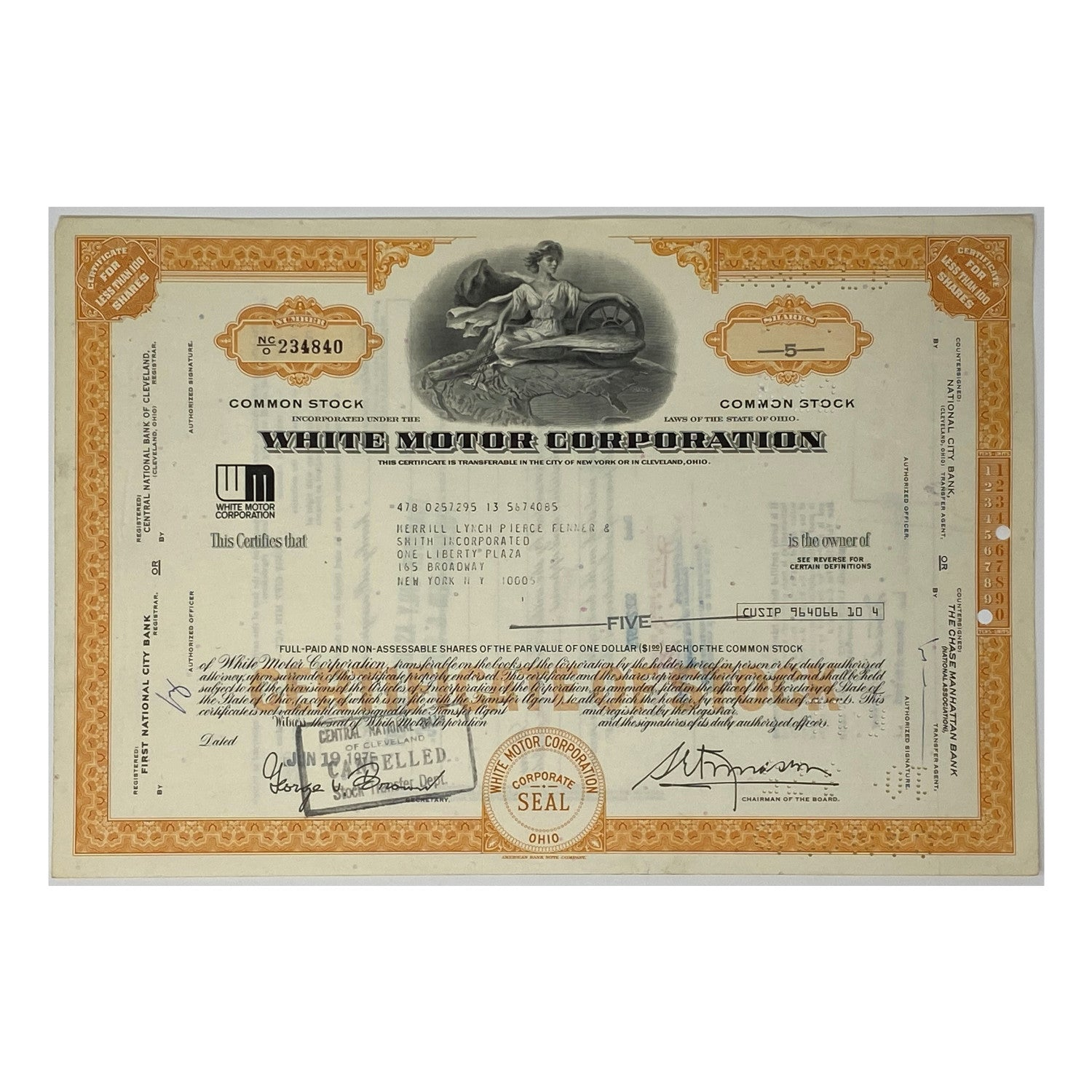 Premium Collection of 18 Stock Certificates: Great American Corporations (1920's - 1980's)