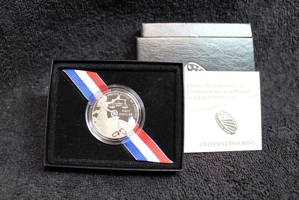 2015 United States U.S. Marshals Service 225th Anniversary Commemorative Half Dollar Proof