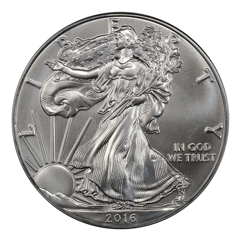 2016 1 oz American Silver Eagle Mint State Condition