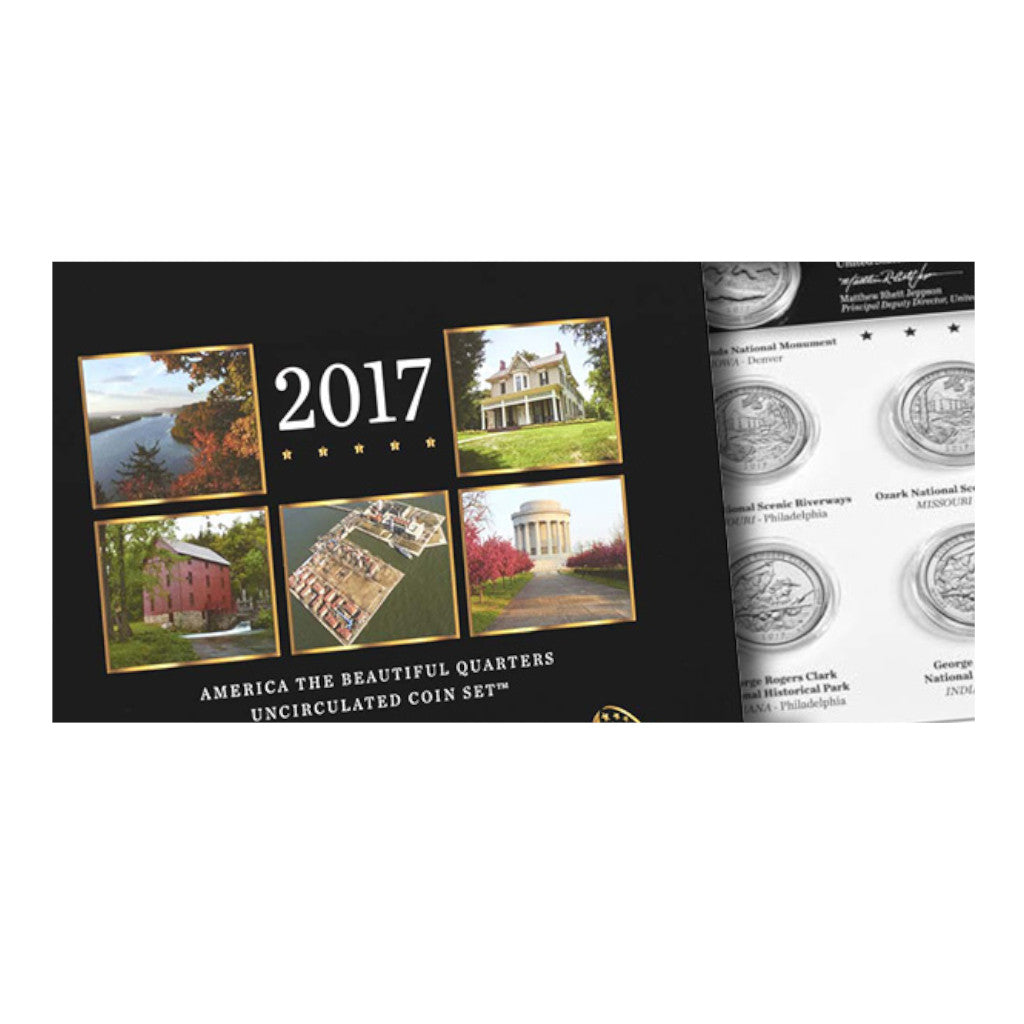 2017 U.S. Uncirculated Set, ATB Quarters