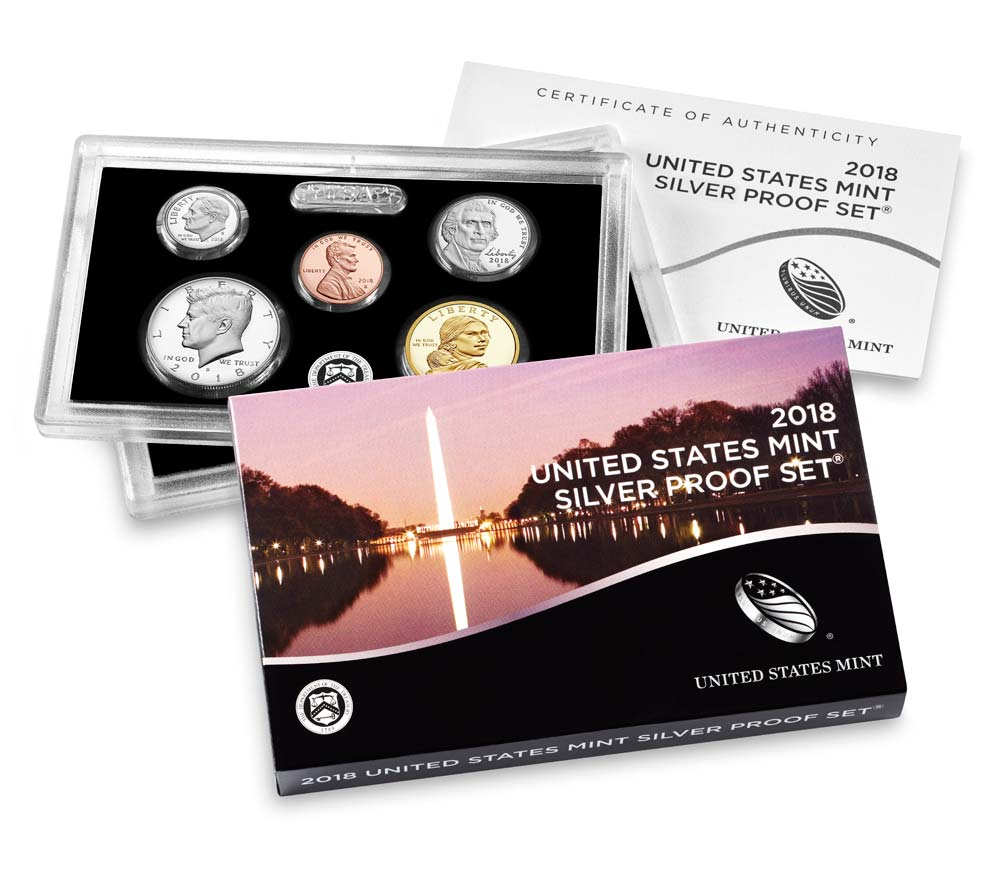 2018 United States Mint Silver Proof Set