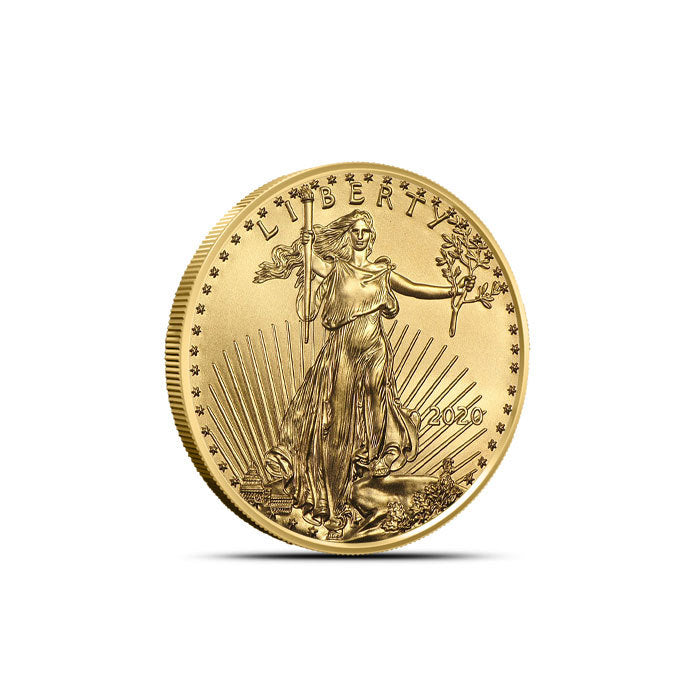 2020 1/10oz American Gold Eagle Mint State