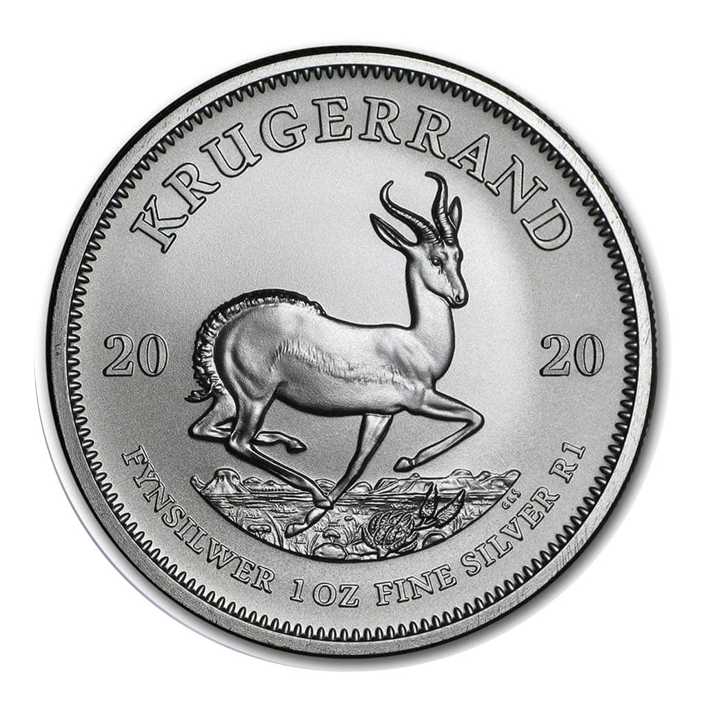 2020 South African 1 oz Silver Krugerrand Mint State