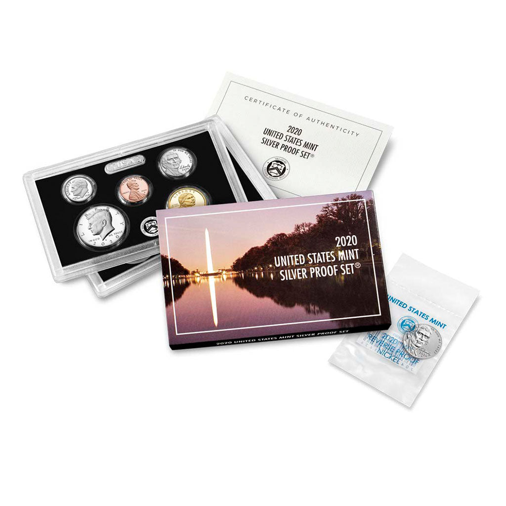 2020 U.S. Silver Proof Set