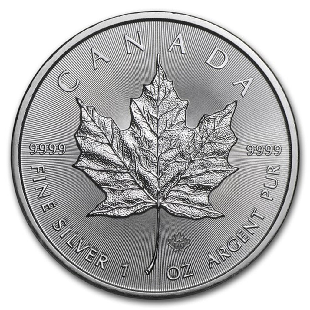 2021 $5 1 oz Canadian Silver Maple Leaf