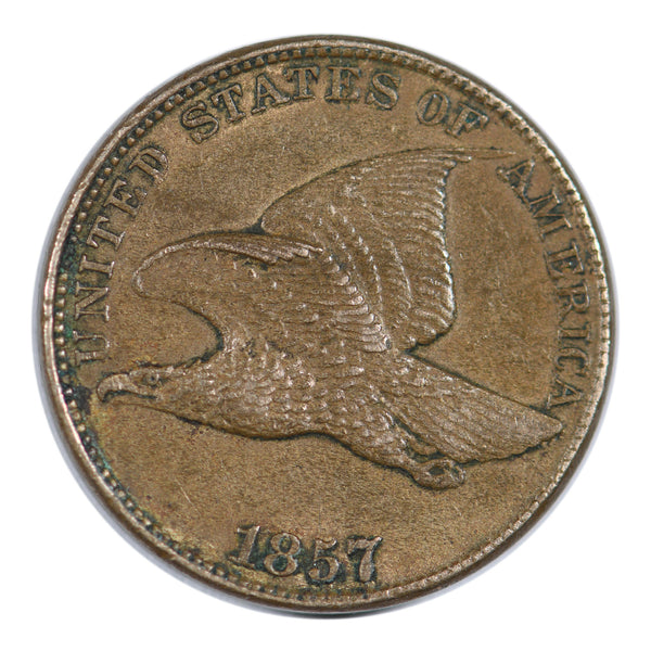 1857 Flying Eagle Cent Extra Fine Condition