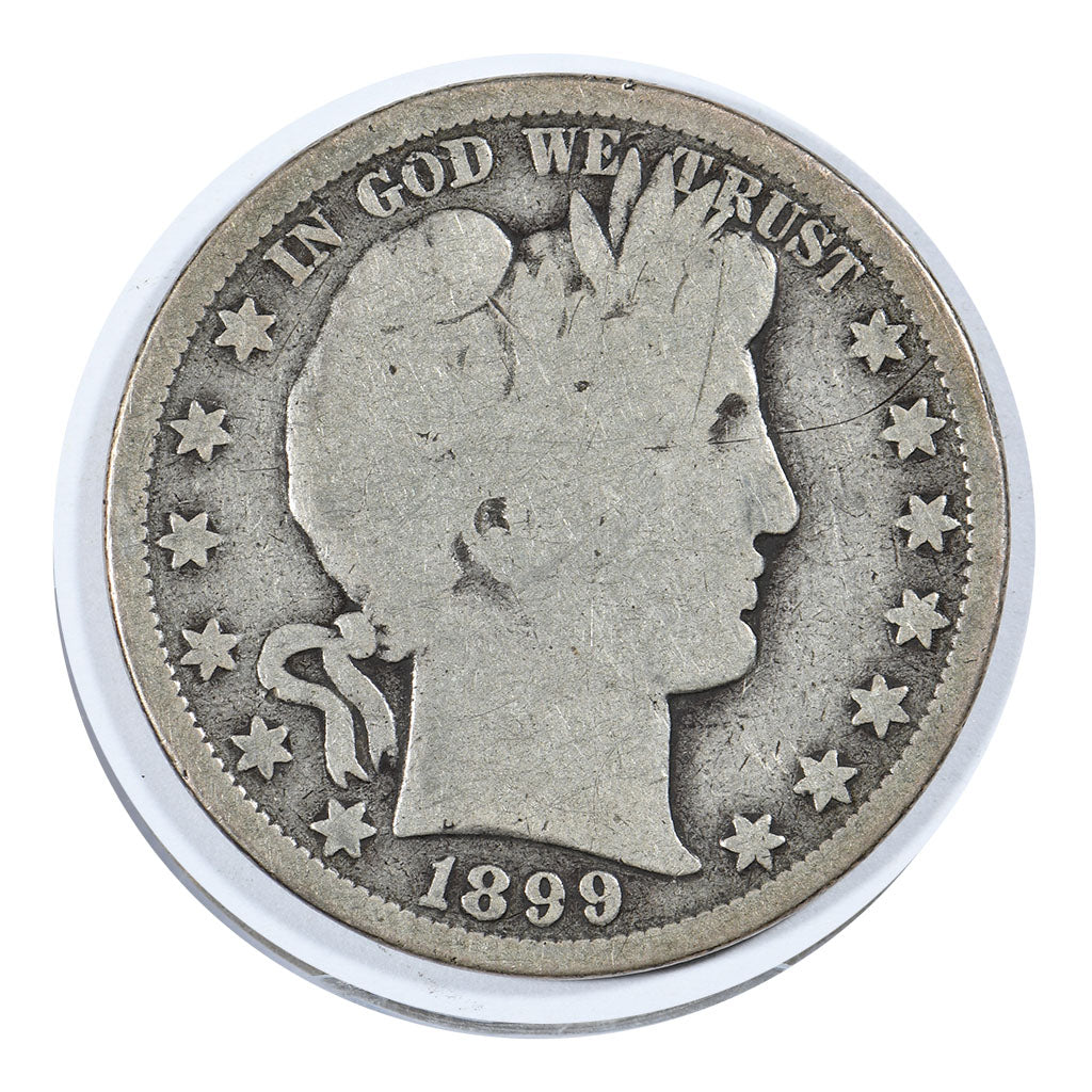 1899-S Barber Half Dollar Good Condition