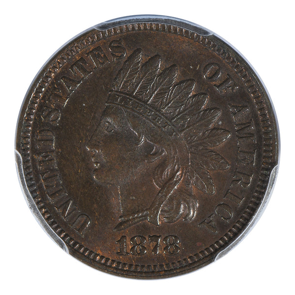 1878 Indian Head Cent PCGS MS65BN