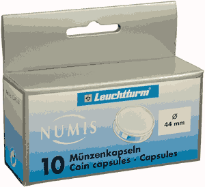 44mm - Coin Capsules (pack of 10)