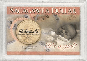 Sacagawea Frosty Case - It's a Girl!