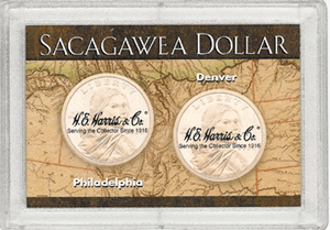 Sacagawea P&D Frosty Case