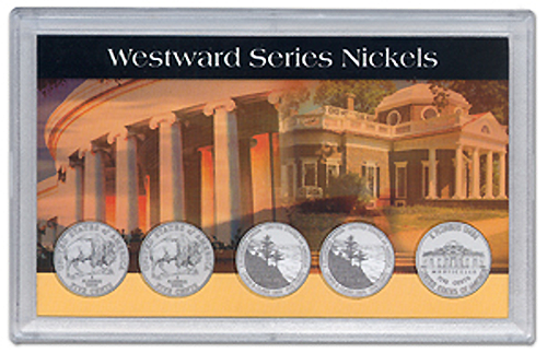 2006 Commemorative Nickels 5 Hole - 3x5