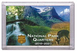 National Parks Deer and Meadow Design Frosty Case - 6 Hole
