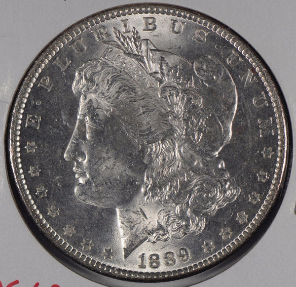 1889 Morgan Silver Dollar Mint State #172551