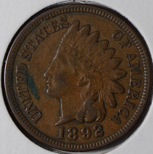 1889 Indian Cent Very Fine