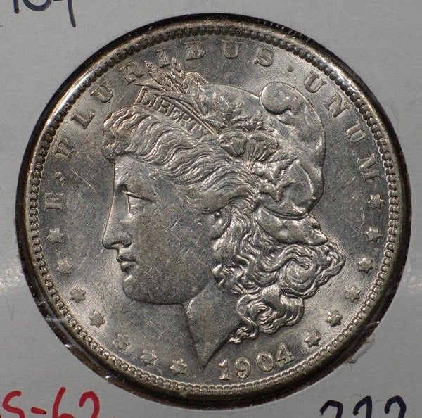 1904 Morgan Silver Dollar Mint State #145885