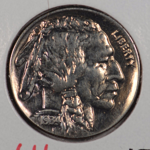 1934 Buffalo Nickel Mint State #146872