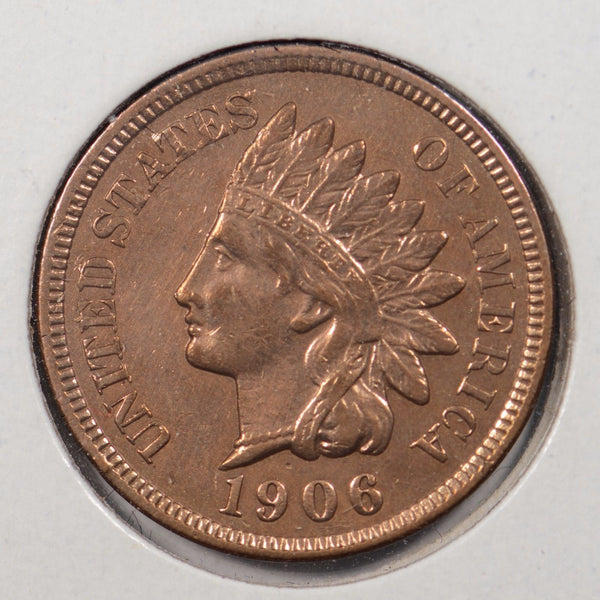 1906 Indian Cent Extra Fine #144989