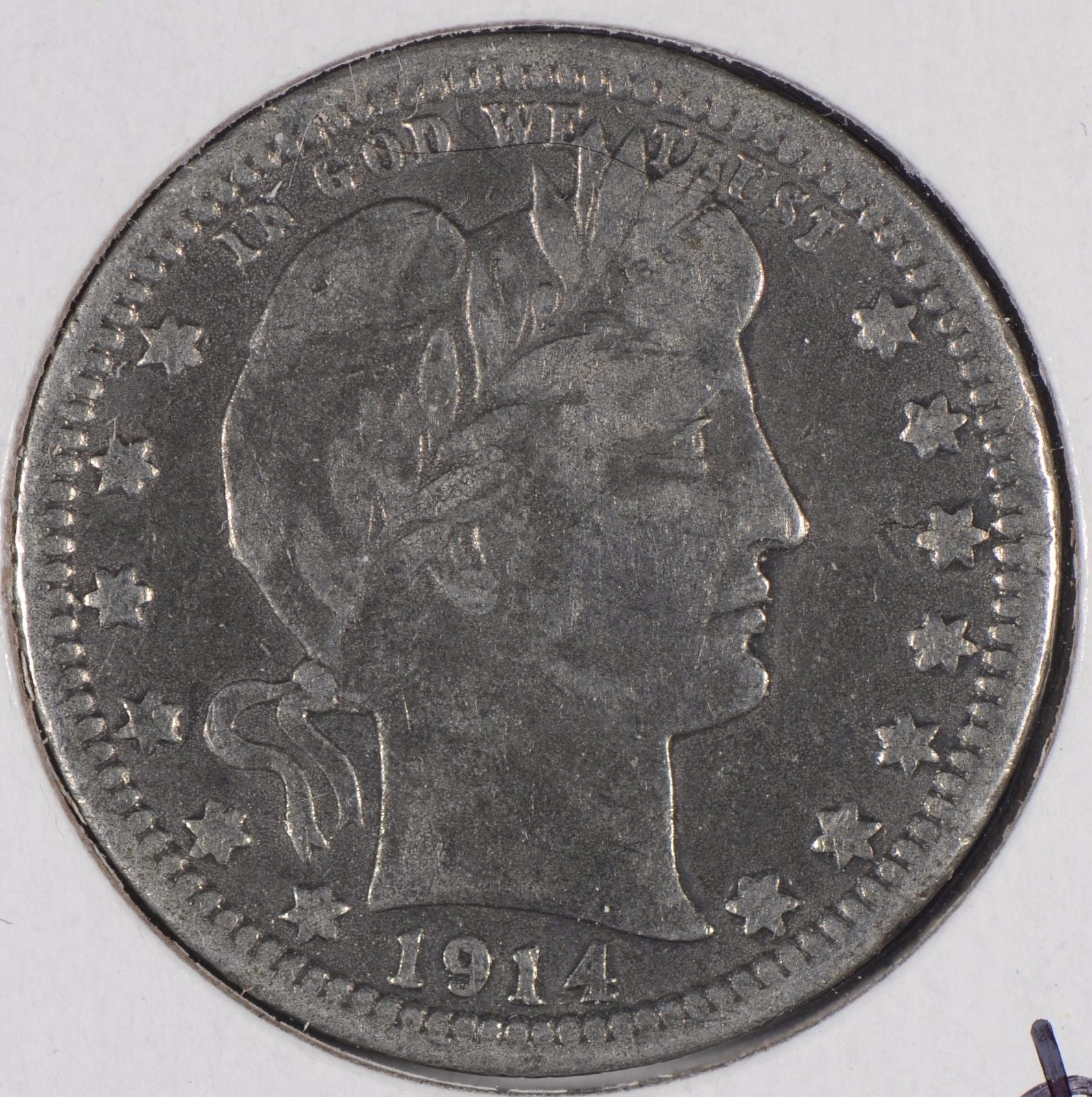 1914 Barber Quarter Very Fine #176398