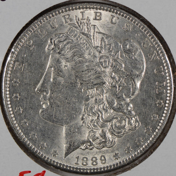 1889 Morgan Silver Dollar About Uncirculated #176103