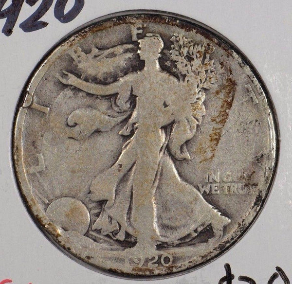 1920 Walking Liberty Half Dollar Good