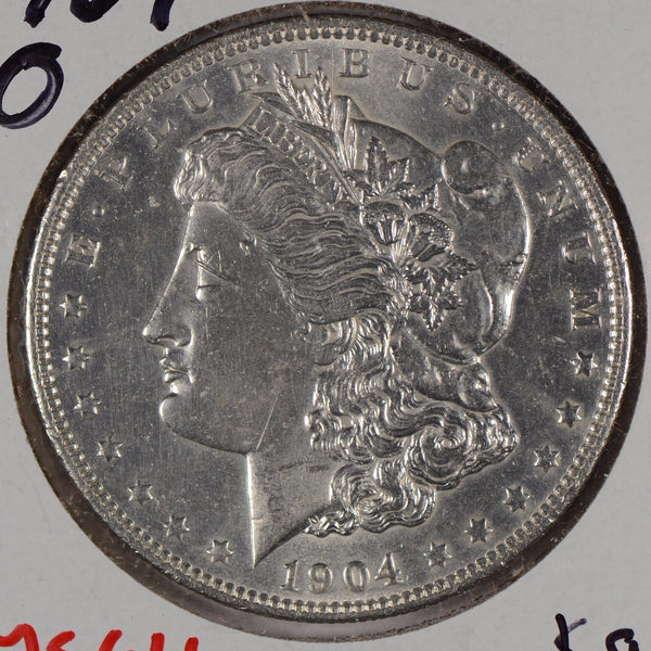 1904-O Morgan Silver Dollar Mint State #162307