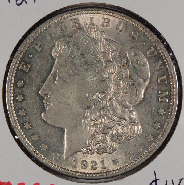 1921 $1 Morgan Silver Dollar Mint State #176331