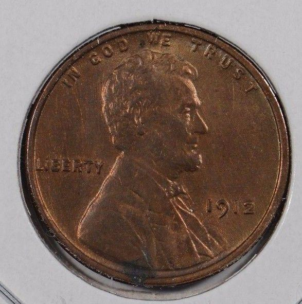 1912 Lincoln Wheat Cent Mint State