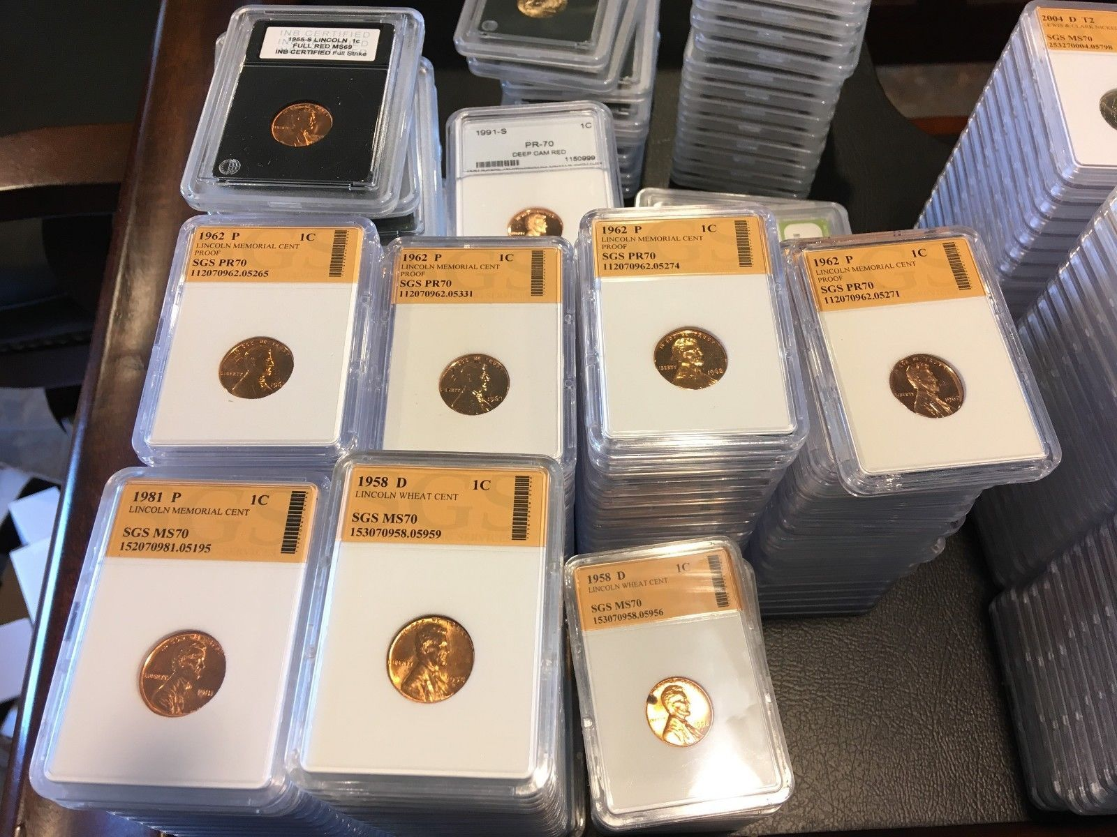 Assorted Encapsulated Lot of Modern US Coins *13 Coin Grab-Bag