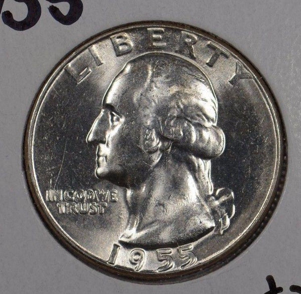 1955 Washington Quarter Mint State #165901