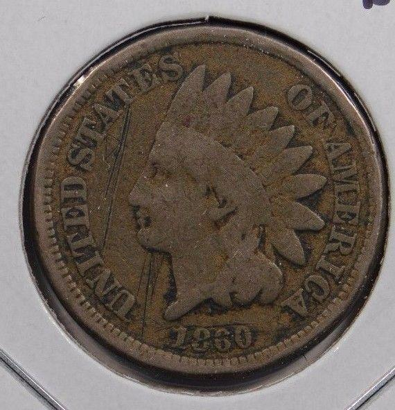 1860 Indian Cent Very Good Condition #151913
