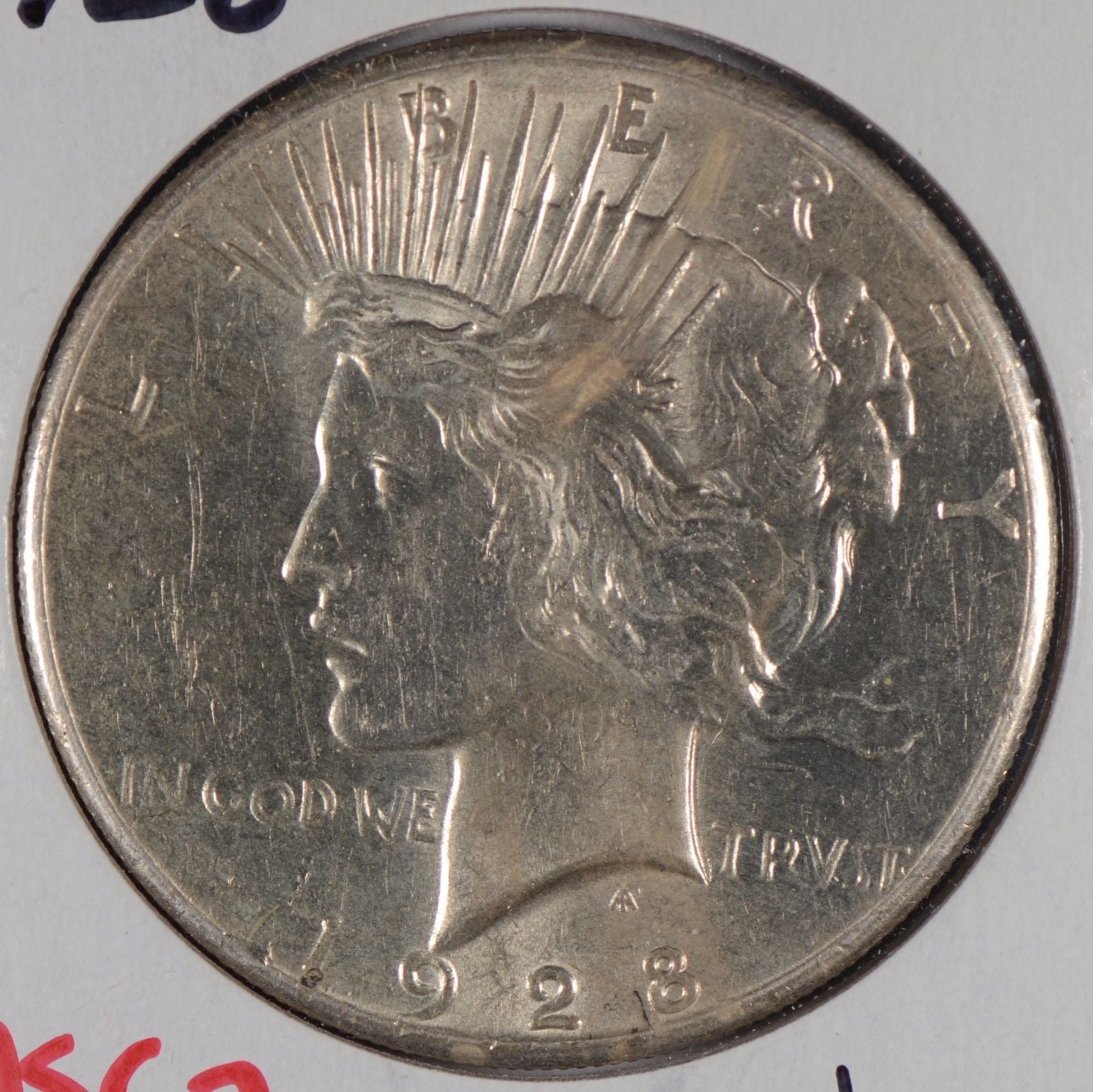 1928 Peace Dollar Mint State #169489