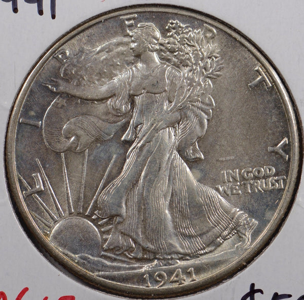 1941 Walking Liberty Half Dollar Mint State #179953