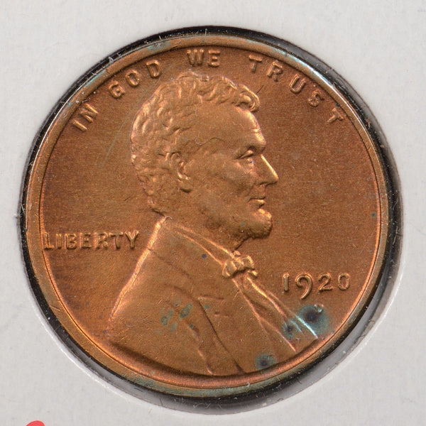 1920-D Lincoln Wheat Cent Mint State