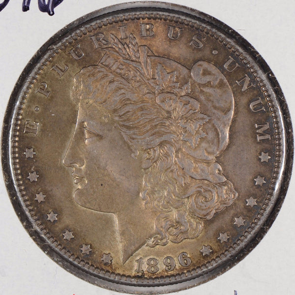 1896 Morgan Silver Dollar About Uncirculated #163805