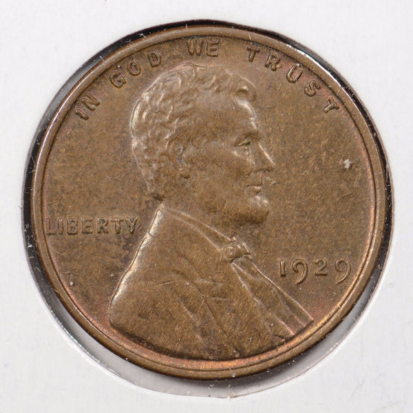 1929 Lincoln Wheat Cent Mint State
